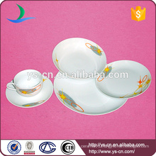 Hotel Porcelain Dinnerware Set With Simple Design