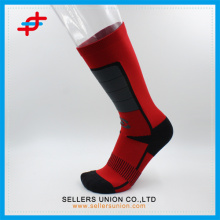Fashion Red And Black Color Compression Socks