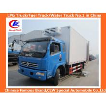 Caminhão refrigerado Dongfeng 4 * 2 120HP