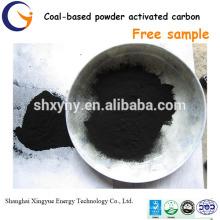 Preço de carbono activado em pó à base de carvão de 200-300 mesh por tonelada