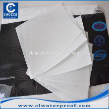 Poliéster spunbond tecido não tecido utilizado para SBS / APP membrana de impermeabilização