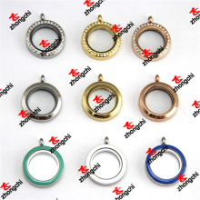 Wholesale 25mm Stainless Steel Magnets Glass Floats Story Lockets (LDD60128)