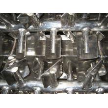 Mezclador de paletas de doble gravedad y eje cero WZ, mezcla de gravedad SS, mezcladoras de fluidos horizontales
