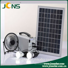 solar panel system for home use with led light&mobile phone charger