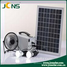 Sistema do painel solar para o uso home com luz conduzida & carregador do telefone móvel