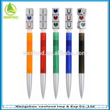 Factory direct cheapest funny promotional plastic ball point pen novelty 2015