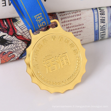 Conception promotionnelle de médaille faite main décorative de cadeau