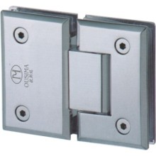 180 Degree Stainless Steel Glass to Glass Hinge Used in Glass Door