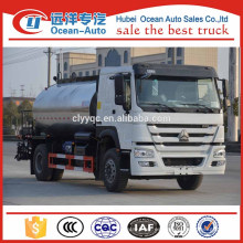 10000 Liter Fabricante China HOWO Camión de Pulverización de Betún