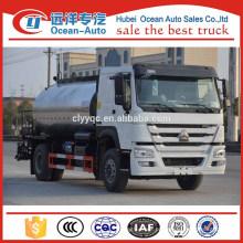 10000 Liter Fabricante China HOWO Camião Pulverizador de Betume