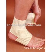 Elastic ankle bandage