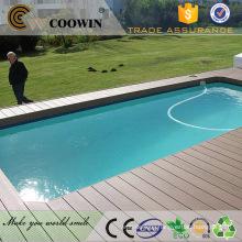 Exterior composite waterproof laminate flooring