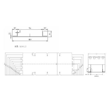Fire Damper Frame Integrated Design Automatic Roll Forming Machine UAE Dubai