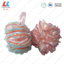 United lace mesh sponge ball