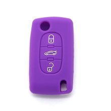 Colorful silicone rubber remote car key cover industry