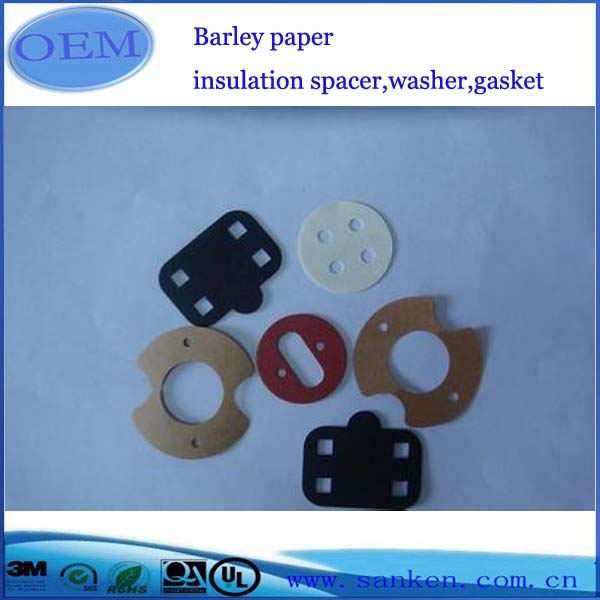 Barley paper insulation spacer,washer,gasket