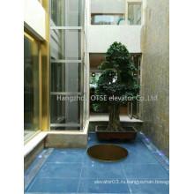 4 человек использовали дешевые дома лифт от OTSE производитель лифтов