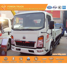 SINOTRUK HOWO 4X2 90hp small cargo delivery truck
