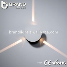 High Quality ip20 3w round led wall light, light led wall