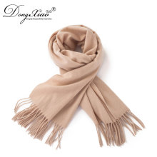 Fashion Men Women Unisex Pashmina Scarf Material Large Cashmere Scarf With Tassels