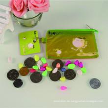 Beliebte Kunststoff gedruckt klar Werbe-Preis-Schere Portemonnaie/Geldbörse