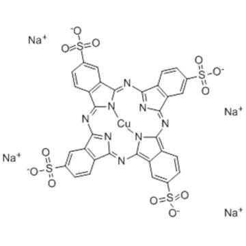 COPPER PHTHALOCYANINE TETRASULFONIC ACID TETRASODIUM SALT  CAS 27360-85-6