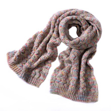 Womens Unisex Space Dye Fancy Dicker Winter Heavy Strickschal (SK158)