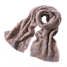 Écharpe épaisse lourde tricotée d'hiver de colorant de fantaisie unisexe de l'espace des femmes (SK158)