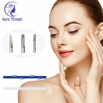 Face Lifting Thread Pdo Screwtwintornado Barbedcog Factory
