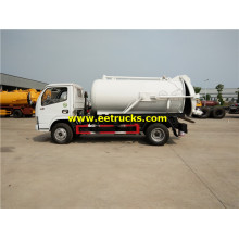 6000 Litres 140hp Fecal Suction Vehicles