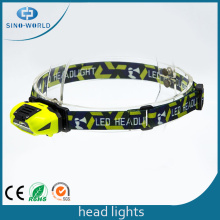 New Design Eyecare LED Plastic Outdoor Head Light