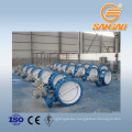 water treatment heating pipe cast iron butterfly valve dn800 double triple eccentric butterfly valve
