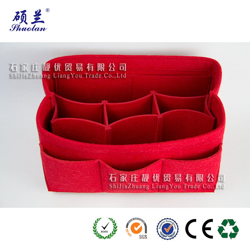 Hot Sale Felt Cosmetic Organizer