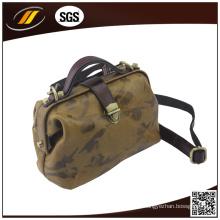 Kundenspezifische Qualitäts-100% echtes Leder-Handtasche für Frauen (HJ05220)
