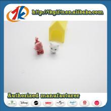 Preço barato plástico Mini Cat Play Set para crianças