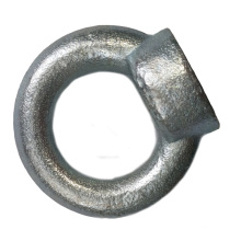Galvanized lifting m12 DIN582 eye nut