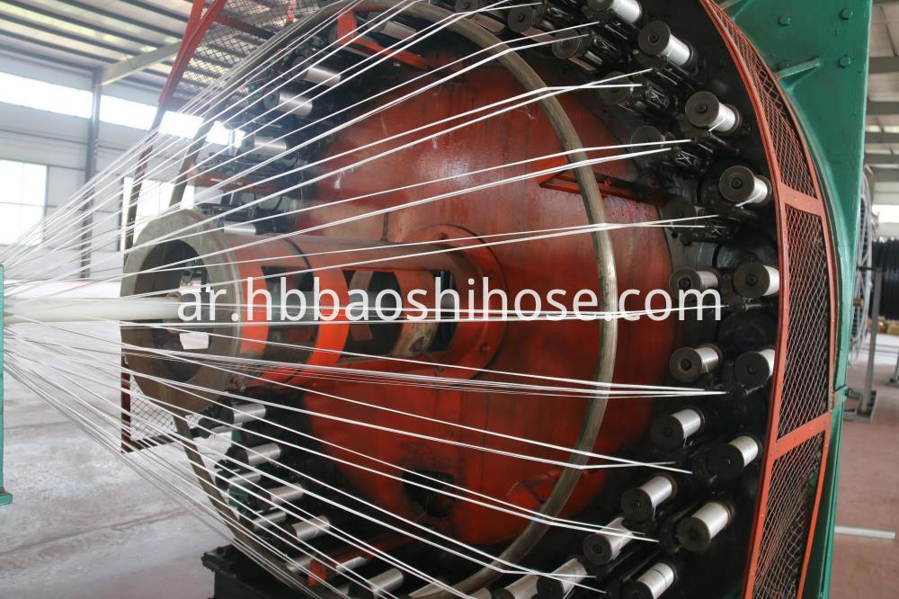 UHMWPE Braided Composite Pipe