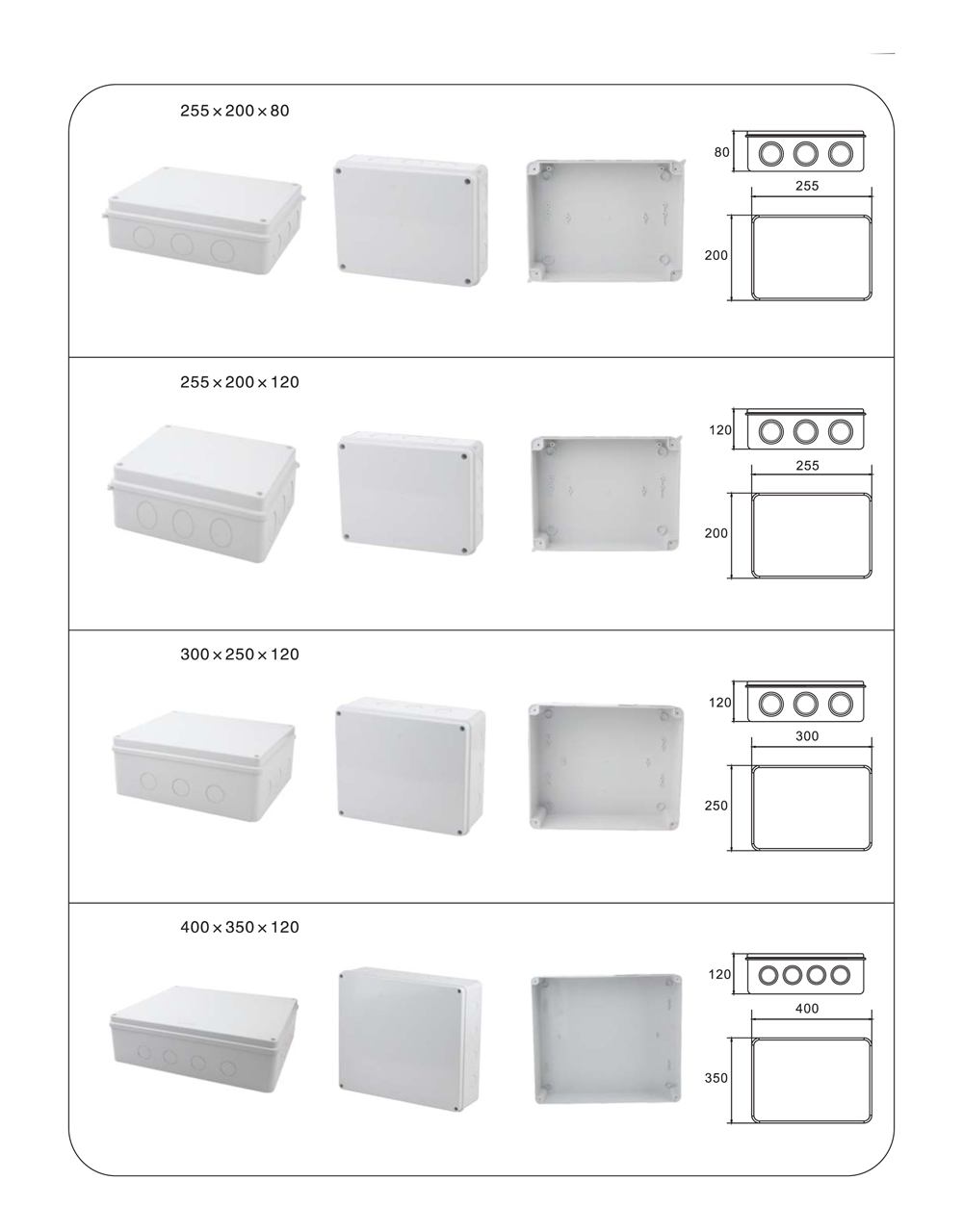 Application of Universal Junction Boxes23