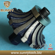 Diamante de pedra ensolarado Stone America Diamond Portable Router Bit
