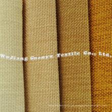 Polyester dekoratives Oxford-Leinen für Textilstoffe
