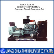 Three Phase Four Wires Stery 200kVA Diesel Generator