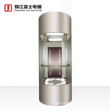 Fuji Brand Stable Running Cheap Price Sight seeing Passenger Elevator In China