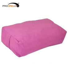 Rectangular Soft Cotton Covers Yoga Bolster Pillow