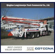 Camion de pompe à béton de vente chaude de 24-52 mètres Sinotruk