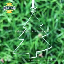 decorações acrílicas feitas sob encomenda da jarda do Natal, decoração do Natal do inverno