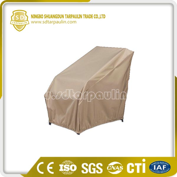 Outdoor uv resistant polyester chair cover china manufacturer for Uv patio furniture covers