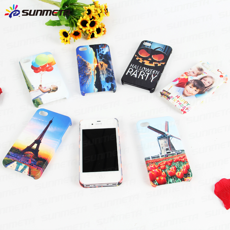 3D Sublimation Phone Case for IP4