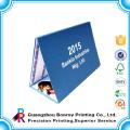 Гуанчжоу фабрика бумаги искусства изготовленное на заказ 2017 помесячный календарь оптом