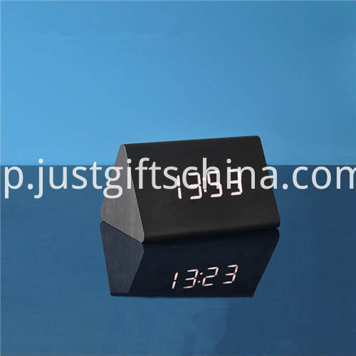 Promotional LED Wooden Table Clock 2