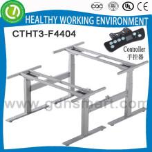 560-1210mm höhenverstellbarer Bereich: Büro-Sitzplatz-Tischbein für 2 Personen